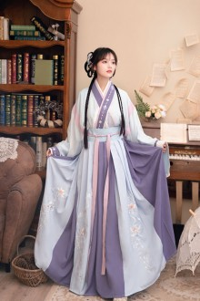 Original New Style <Linglong> Thorn-Making Clear Hanfu Dress Full Set Of 2 Colors