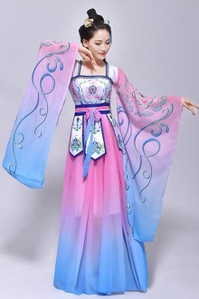 Original Design Chinese Style Color Costume Chinese Hanfu