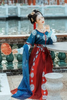 Original Design <Flying Sky> full Set Of 2 Colors Tang Dynasty Hanfu