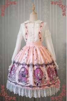 Strawberry Witch Alice in Wonderland Classic Lolita Salopette SK