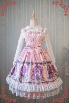 Strawberry Witch Alice in Wonderland Classic Lolita JSK Dress