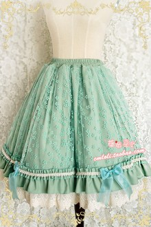 Strawberry Witch Latouchea fokiensis Franch Lolita Skirt