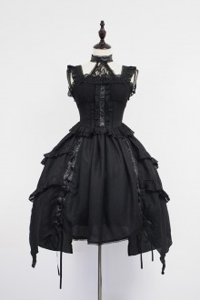 Neverland Undead Waltz Punk Style Gothic Lolita JSK Dress