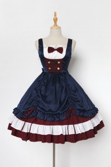 Neverland White Snow Summer Version Sweet Lolita JSK Dress