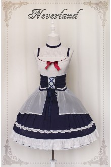 Neverland Light and Shadow Duel Sweet Lolita JSK Dress