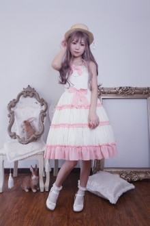 Neverland Melaleuca Snow Sweet Lolita JSK Dress