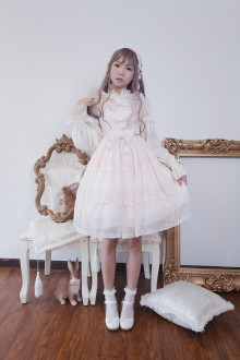Neverland Fruity Ice High Waist Sweet Lolita JSK Dress 3 Colors