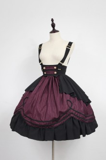 Neverland Morningstar Idol Academy Sweet Lolita Strap Skirt 4 Colors