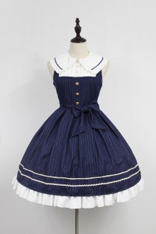 Neverland Morningstar Idol Academy Doll Collar Sweet Lolita JSK Dress 4 Colors
