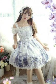 Rose Valley Nightmare Curse Sweet Lolita JSK Dress 4 Colors