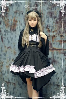 Neverland Seraphim Night Dark Style Girdle Gothic Lolita Dress 3 Colors
