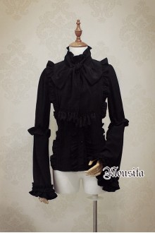 Mousita Big Trumpet Long Sleeves Gothic Lolita Blouse