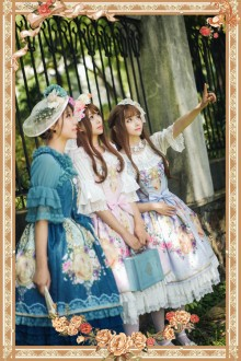 Infanta The Portrait Of The Lover Sweet Lolita JSK 3 Colors