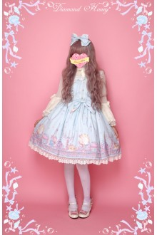 Diamond Honey Mermaid Fresh Ocean Style Sweet Lolita JSK Dress