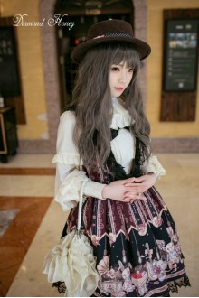 Diamond Honey Vintage Doll Girl Punk Lolita JSK Dress
