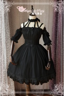 Magic Tea Party Ballet Style Gothic Lolita JSK