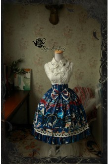 Magic Tea Party Circus Girl Original Printing Lace Stitching Sweet Lolita SK Version Two 3 Colors