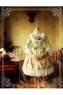 Magic Tea Party Spring of Europa Original Printing Sweet Lolita OP Dress