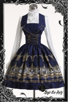 Magic Tea Party Sky Court Original Printing Classic Lolita JSK Dress