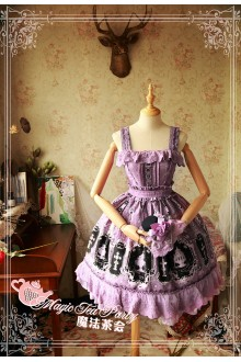 Magic Tea Party Cross and Censer Original Printing Classic Lolita JSK Dress