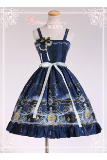 Magic Tea Party Angel Fish Original Printing Sweet Lolita JSK Dress