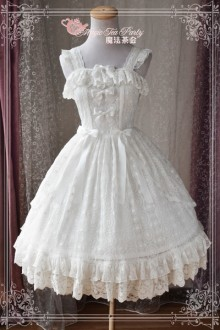 Magic Tea Party Alina Original Beautiful Lace Embroidery Sweet Lolita JSK Dress