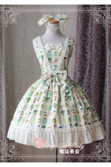 Magic Tea Party Sweet Life Original Printing Sweet Lolita JSK Dress