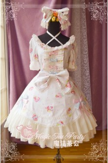 Magic Tea Party Sweet Cake Party Sweet Lolita OP Dress