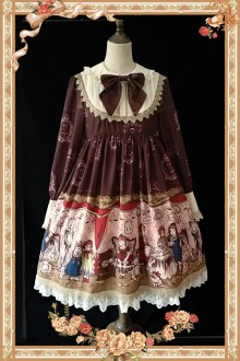 Infanta Doll House Classic Lolita OP Dress 4 Colors