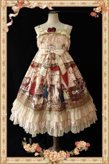 Infanta Doll House Classic Lolita JSK Dress 4 Colors