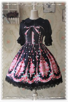 Infanta Strawberry  Little Female Cook Sweet Lolita JSK Dress 3 Colors