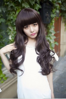 Long Wavy Curly Hair Lolita Wig 3 Colors