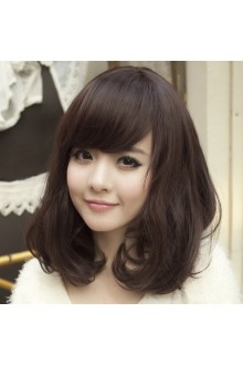 Short Wavy Curly Hair Rinka Sweet Lolita Wig 3 Colors