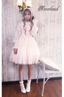 Neverland Anne's Gift Little High Waist Sweet Lolita JSK 4 Colors