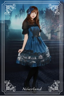 Neverland Vatican Castle Moonlight Classic Gothic Lolita Dress 3 Colors