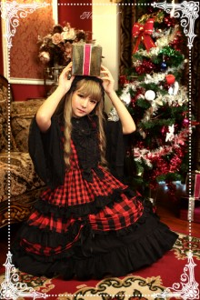 Neverland Christmas Half Candy Classic Gothic Lolita JSK Dress