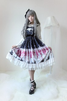 Neverland Elector Long High Waist Classic Lolita JSK Dress 4 Colors