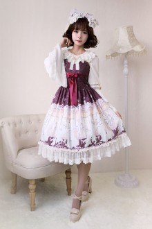 Neverland Elector Ribbon Sleeveless Classic Lolita JSK Dress 4 Colors