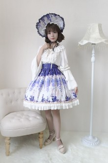 Neverland Elector Chiffon Sweet Lolita SK 4 Colors