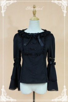 Neverland Elector Double Layer Hime Sleeves Round Collar Lolita Blouse