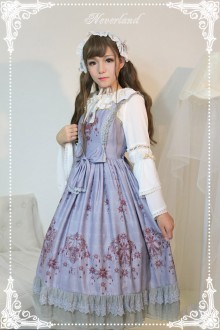 Neverland Gem Swan Classic Lolita JSK Dress 4 Colors
