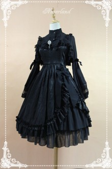 Neverland Mermaid Tears Little High Waist Classic Gothic Lolita JSK Dress