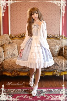 Neverland May Girl Cardigan Sweet Lolita JSK Dress 4 Colors