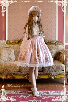 Neverland May Girl Sweet Lolita SK Skirt 4 Colors