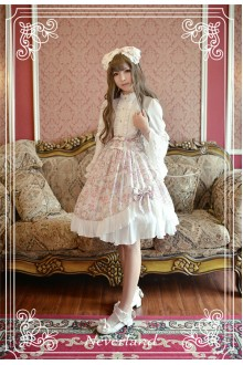 Neverland Antique Clock Irregular Chiffon Sweet Lolita SK