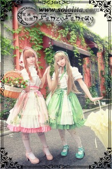 Fanzy Fantasy Miss Tear Green gables Adele Sweet Lolita SK 3 Colors