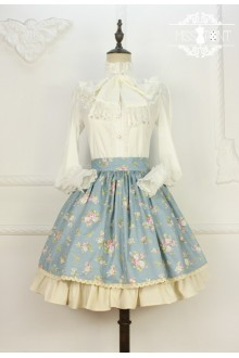 Miss Point Rose Song Vintage Country Style Floral Classic Lolita SK