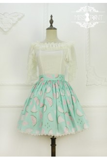 Miss Point Watermelon Printing Sweet Lolita Tutu SK 3 Colors