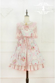 Miss Point Garden Girl Elegant Pastoral Lace Classic & Sweet Lolita Dress