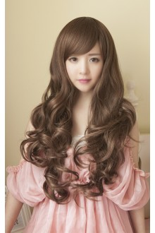 Long Curls Big Curve Sweet Lolita Wig 3 Colors